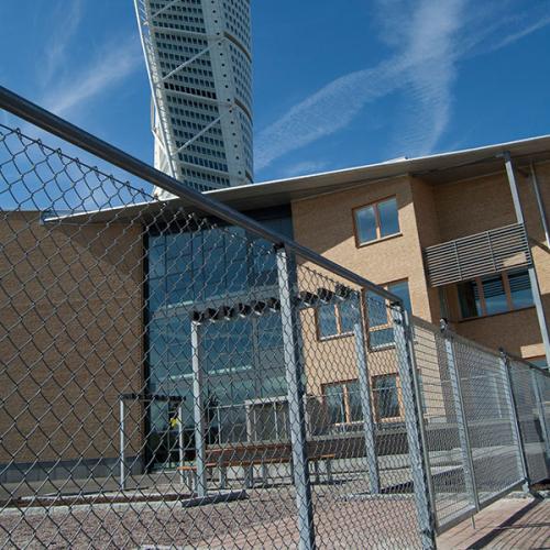 Förskolestängsel, Västra Hamnen, Malmö