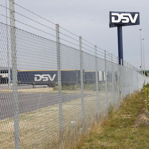 Industristängsel, DSV, Landskrona