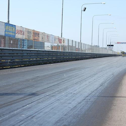 Vägbalk, Malmö Raceway
